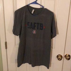 Adult Large Dark Grey Barstool SAFTB T-shirt